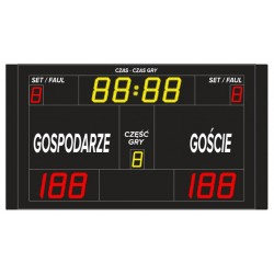 Wireless sports scoreboard ETW 220-110