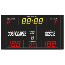 Wireless sports scoreboard ETW 220-130