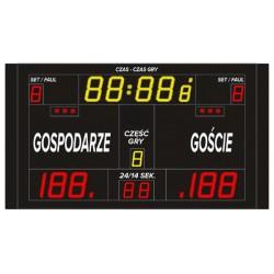 Professional sports scoreboard ETW 220-130 PRO
