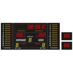 Professional sports scoreboard ETW 240-80 PRO