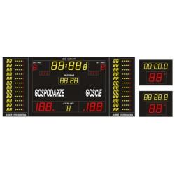 Professional sports scoreboard ETW 340-185 PRO