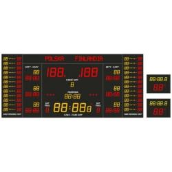 Professional sports scoreboard ETW 500-500-1 PRO