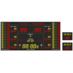 Professional sports scoreboard ETW 500-500-3 PRO