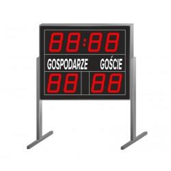 Freestanding scoreboard for outdoor sports fields - ZTW ORLIK