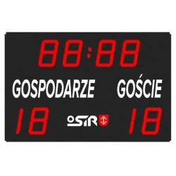 Electronic scoreboard for...
