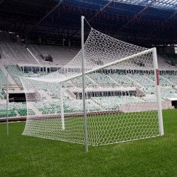 Professional aluminum football goals 7,32x2,44 m