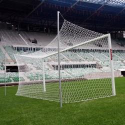 Professional aluminum football goals 7,32x2,44 m