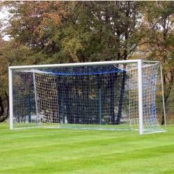 Football goals 5x2 m, oval aluminum profile