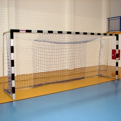 Football goals 5x2 m, square profile