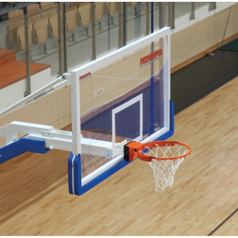 Professional backboard 180x105 cm, tempered glass 12 mm