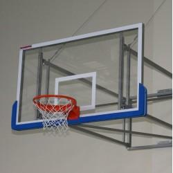 Basketball backboard 105x180 cm, acrylic glass 10 mm