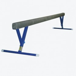 Balance beam 5 m long, with height adjustment