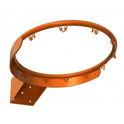 Reinforced basketball ring