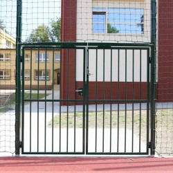 Steel gate for protection sets nets (outdoor)