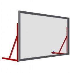 Transparent acrylic boundary boards