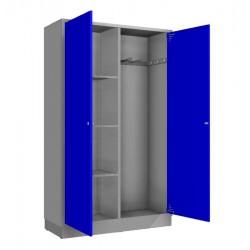 Steel storage locker for sports equipment SM-120-SPORT1