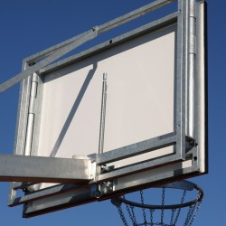 Height adjustment mechanism for basketball backboard 90x105 cm, hot dip galvanized