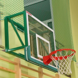 Stationary basketball structure