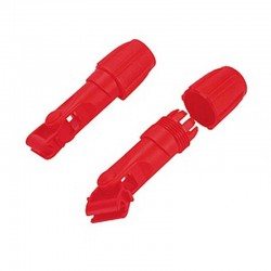 The complete red holder