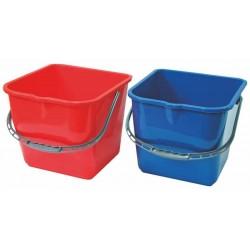 Bucket 20 l (red, blue)