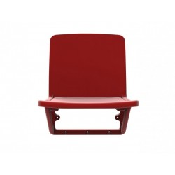 SPD-38P stadium seat – tilting under gravity, mounted to the riser