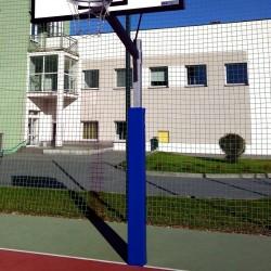 Basketball post protection pad