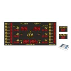 Professional sports scoreboard ETW 500-500-2 PRO