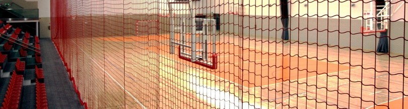 Protective nets for indoor use