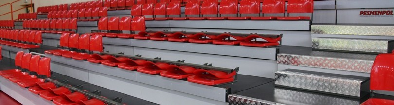 Seats with folding backrest