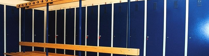 Equipment for locker room, storage accessories