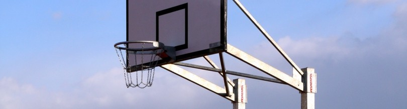 Basketball structures for outdoor use