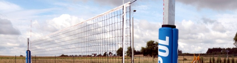 Beach volleyball posts