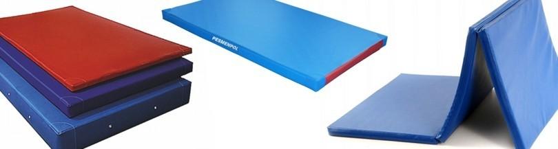 Gymnastic mattresses